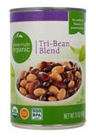 Can of Simple Truth Tri-Bean Blend