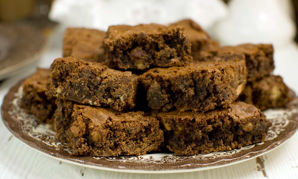 Brownies with Cocoa Powder
