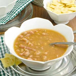 Baked Bean Soup with Ham