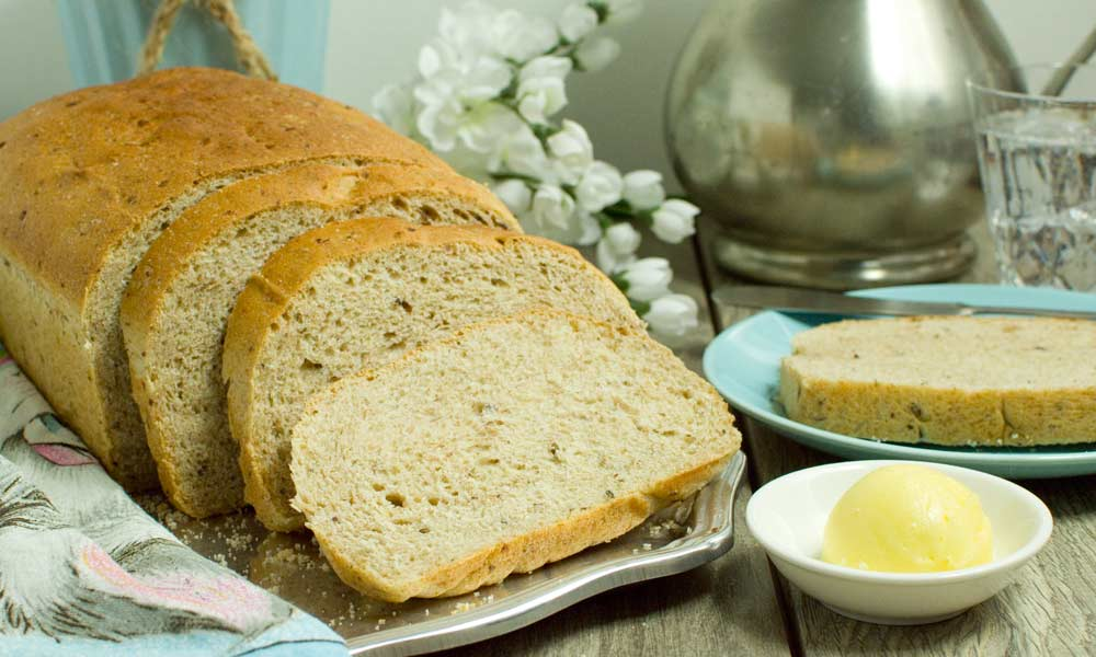 Flaxseed Whole Wheat Bread