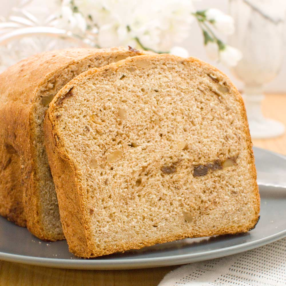 Walnut Raisin Bread