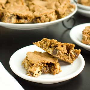 Brown Sugar Walnut Squares