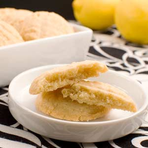 Chewy Lemon Cookies