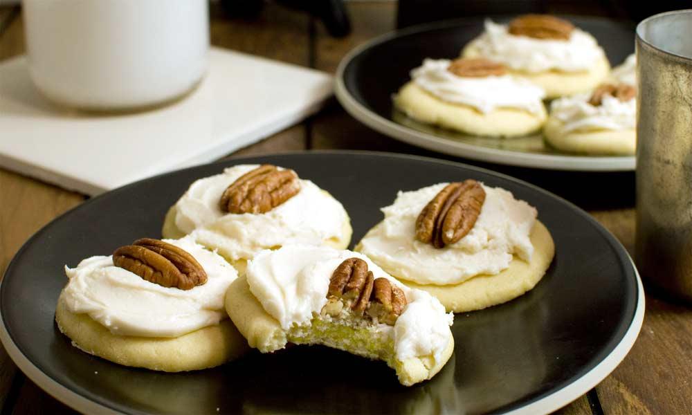 Vanilla Egg Yolk Cookies