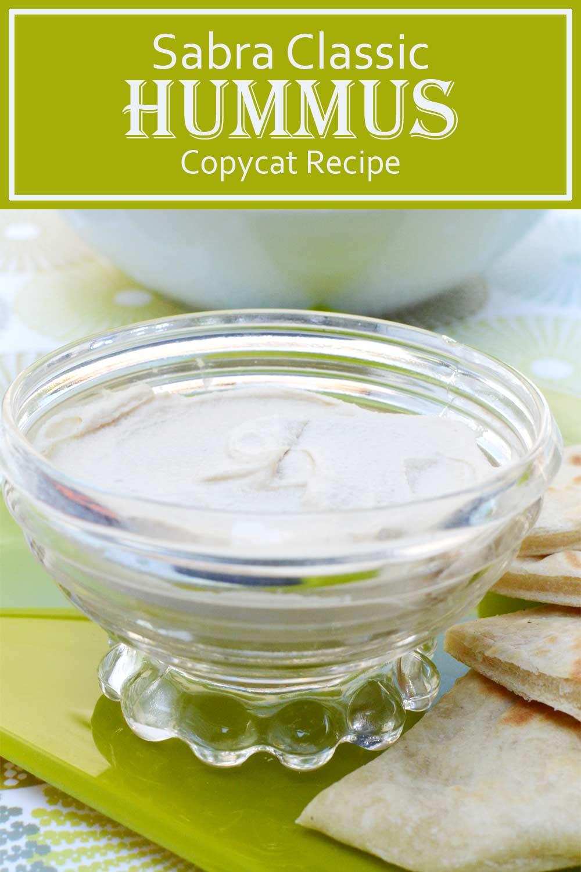 Sabra Classic Hummus Copycat Recipe