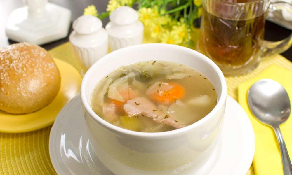 Ham Cabbage Soup