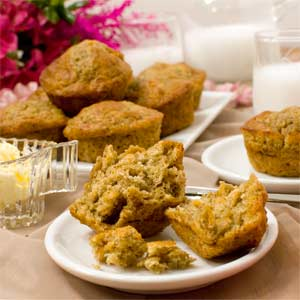 Banana Cornflake Muffins