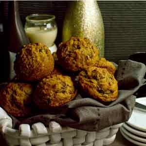 Banana Lentil Muffins