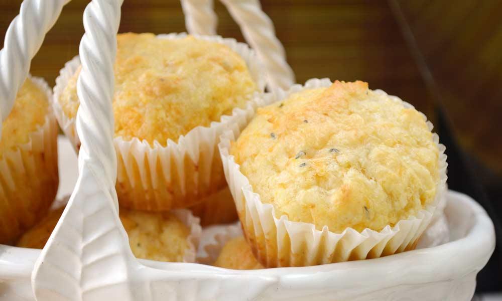 Cornmeal Cheese Muffins