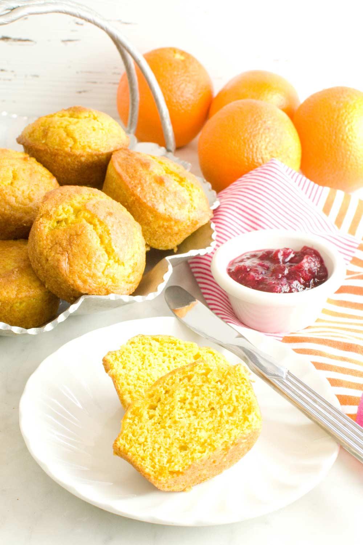 Fresh Orange Muffins