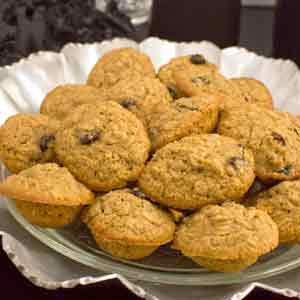 Gluten Free Oatmeal Mini Muffins