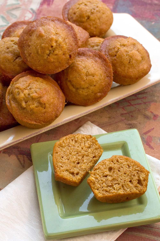 Pumpkin Ginger Muffins