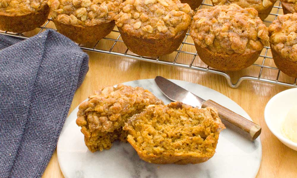 Sweet Potato with Oats Muffin