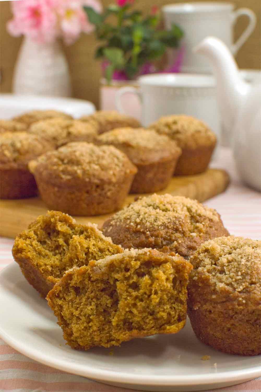 Whole Wheat Sweet Potato Muffin