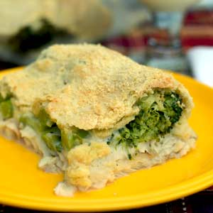 Saucy Broccoli and Fish Bake