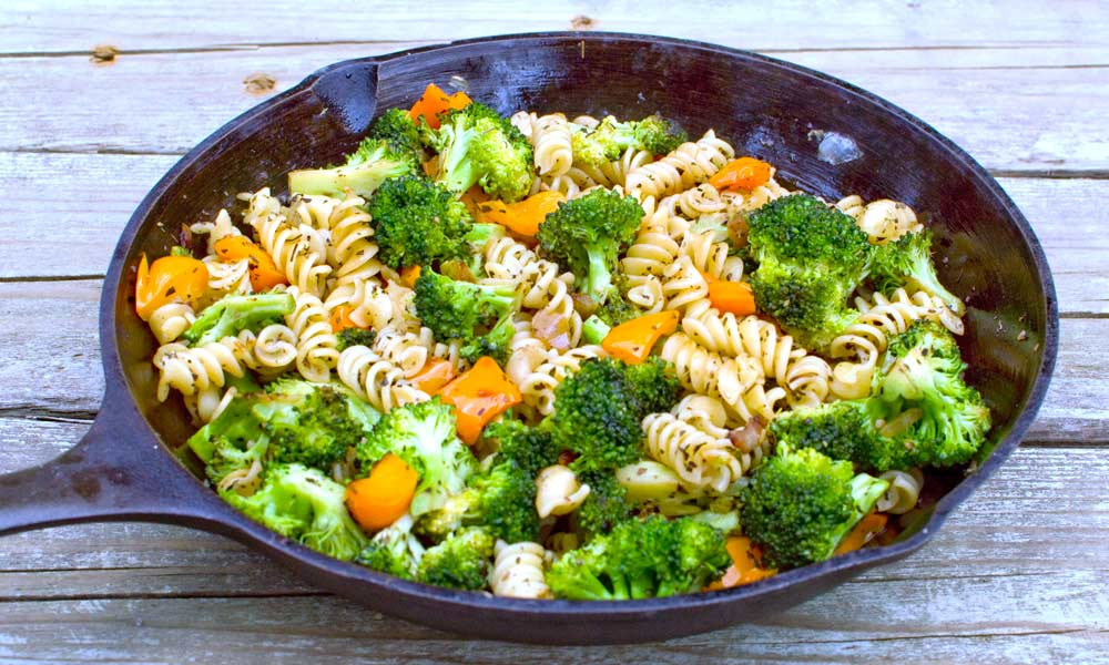Pasta with Broccoli and Basil