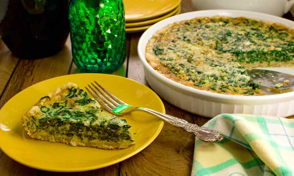 Easy Spinach Quiche Recipe Share The Recipe