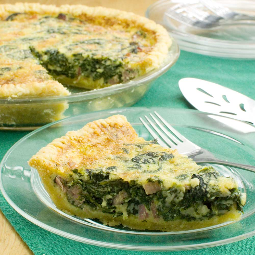Spinach Quiche
