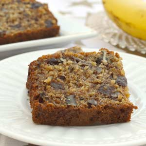 Banana Oat Tea Loaf