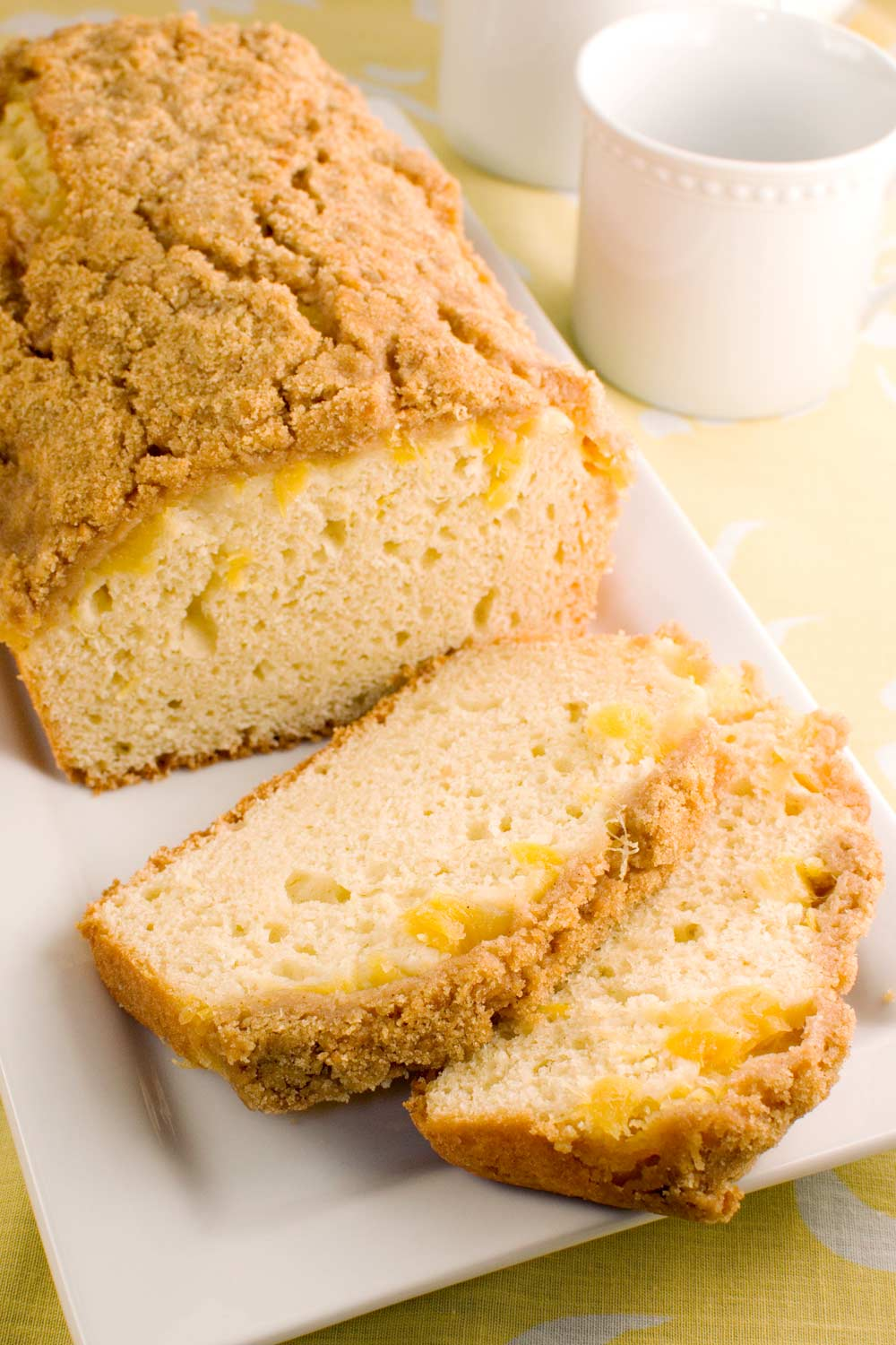Pineapple Crumb Bread