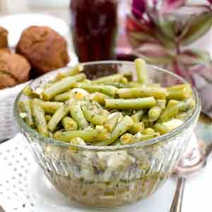 Grecian Green Beans