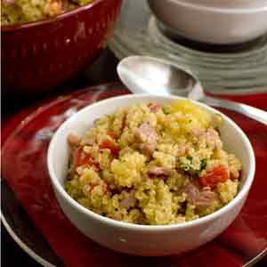Ham Pineapple Quinoa Salad