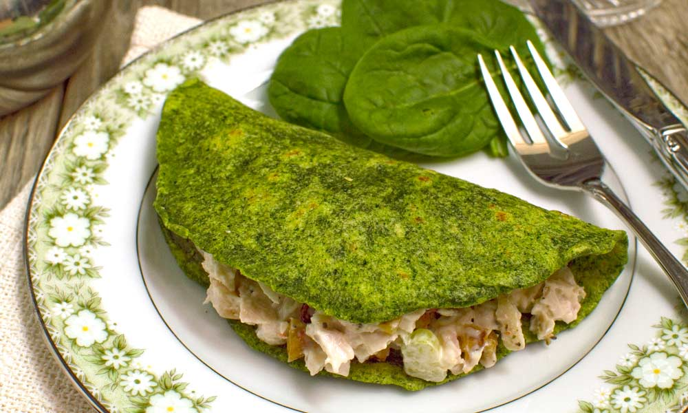 Spinach Tortilla
