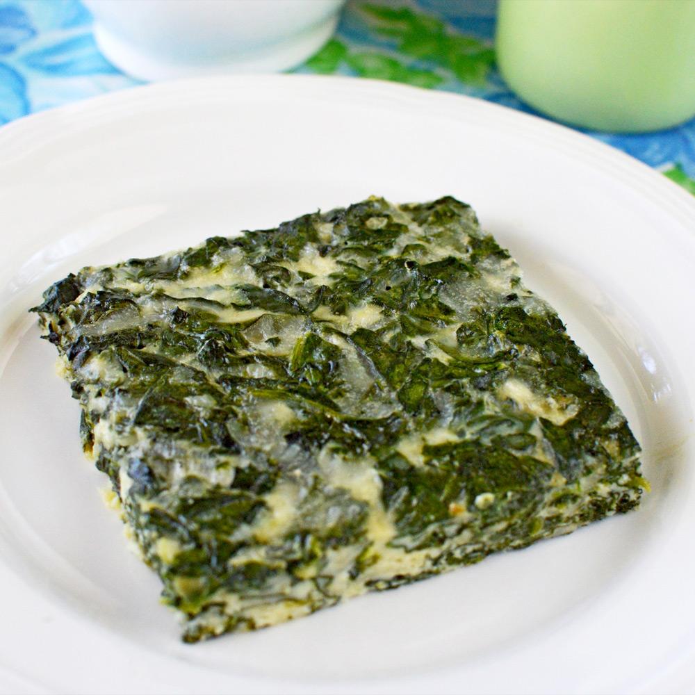 Swiss Spinach Bake