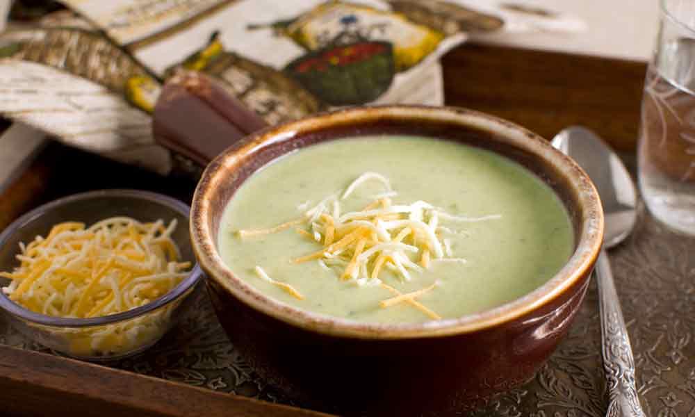 Broccoli Slaw Soup