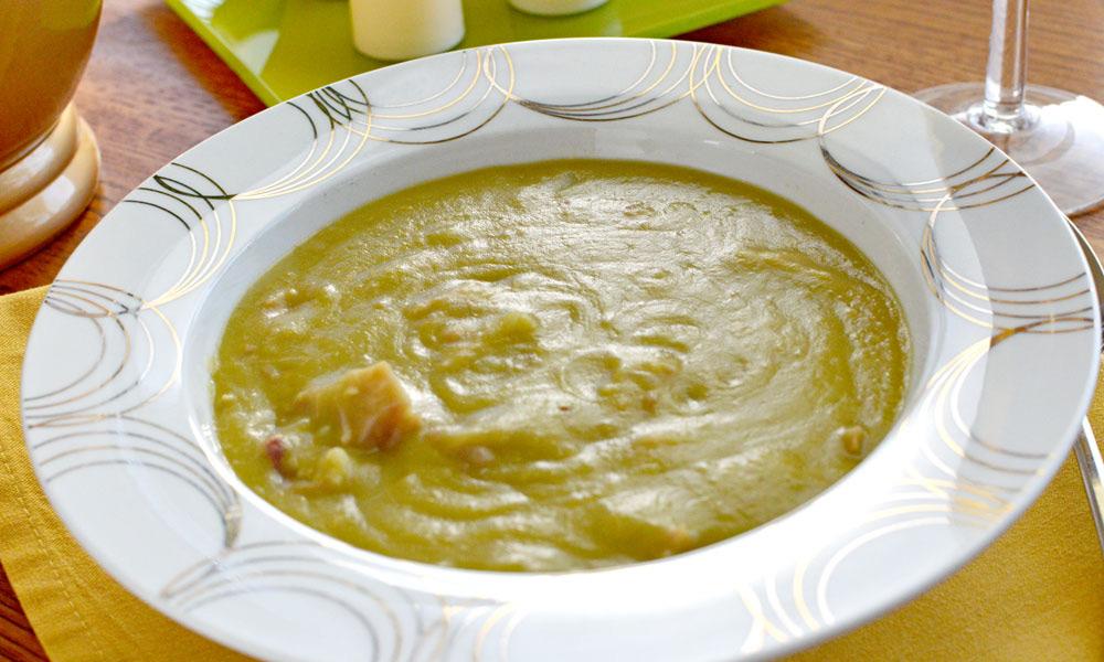 Split Pea with Ham Bone Soup