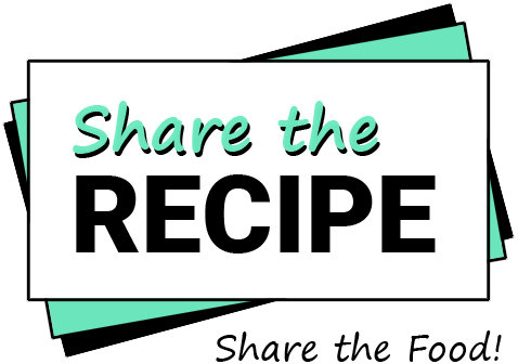 Share the Recipe Logo