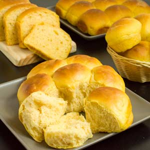 Sweet Potato Bread and Rolls